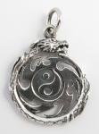P53 Shriken yin-yan pendant