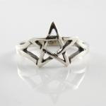R206 Pentagram ring