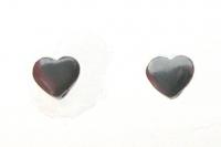 S152 Love heart studs