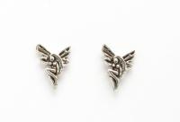 S37a Silver Fairy Studs
