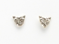 S43 Meowing cat head studs