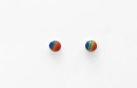 S8 Rainbow circle studs