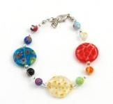 SHB14 Murano glass bracelet