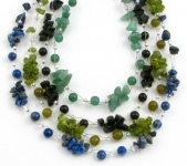 SHB19 handmade gemchip bracelets