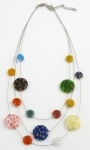 SHN12 Murano glass necklace